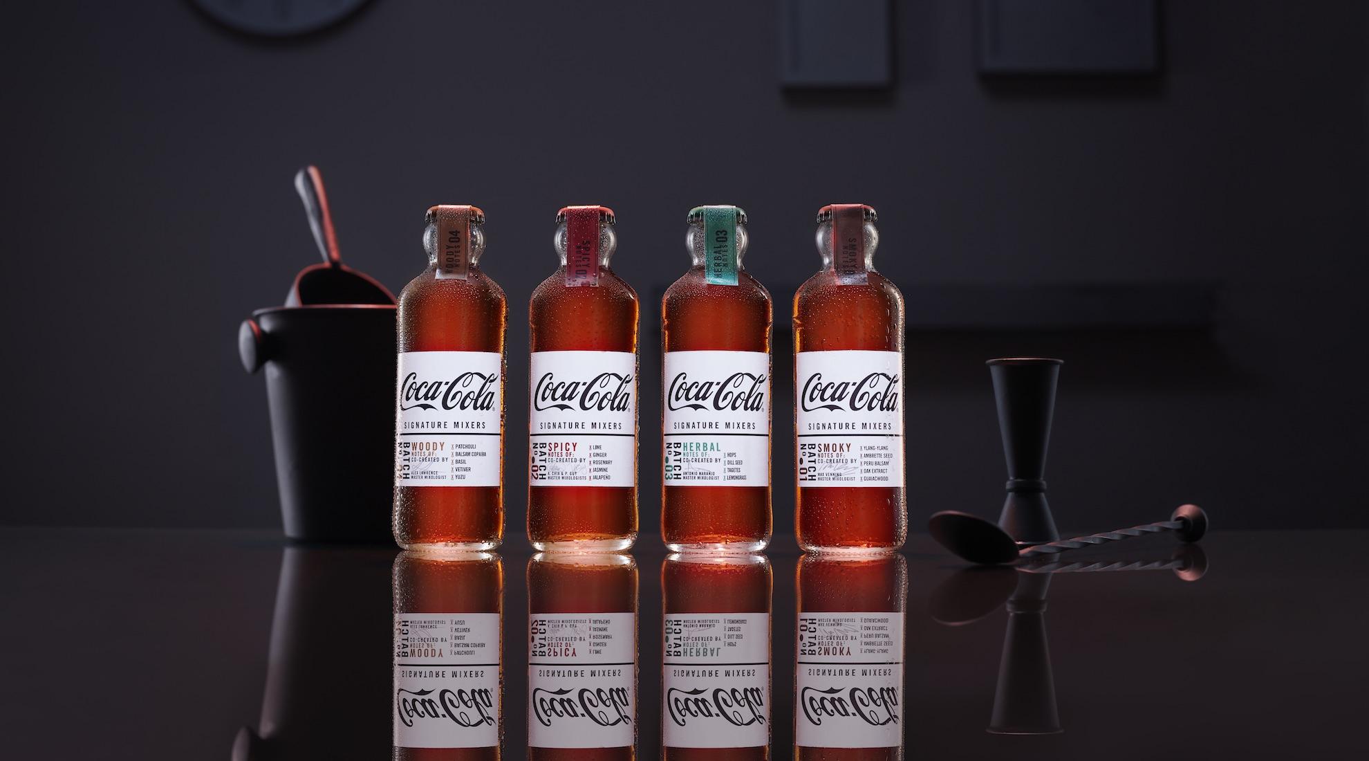 Dragon Rouge design Coca-Cola Signature Mixers range   1980 x 1100 jpeg 309kB