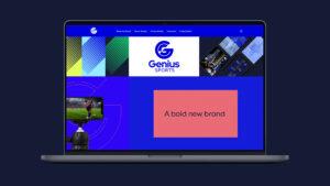 GeniusSports website